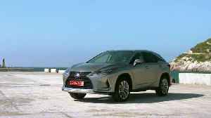 The new Lexus RX450h in Luxury Silver [Video]