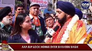 Delhi polls 2020: BJP'S Tajinder Pal Singh Bagga says BJP will vacate Shaheen Bagh on 11th Feb [Video]