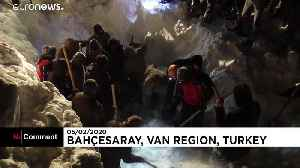 Avalanche in Turkey wipes out rescue team [Video]
