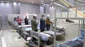 News video: Makeshift hospitals built in Wuhan amid overflow of coronavirus patients