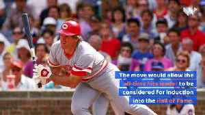 Pete Rose Uses Sign-Stealing Scandal to Request Reinstatement [Video]