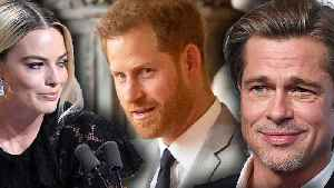 Brad Pitt Shades Prince Harry Royal Family Exit & Prince William Reacts [Video]