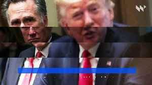 Mitt Romney Votes for Trump'sConviction in Impeachment Trial [Video]