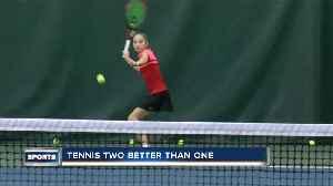 Tennis duo represents Wisconsin well in Elm Grove [Video]