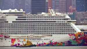 Concerns of virus outbreak on ship docked in HK [Video]