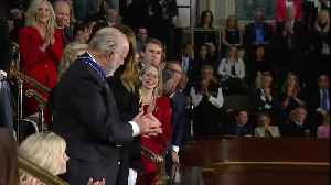 News video: Rush Limbaugh awarded Presidential Medal of Honor at State of the Union address