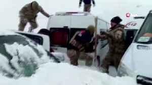 Second avalanche kills dozens of rescuers in Turkey [Video]