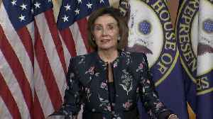 Pelosi holds news conference amid Trump impeachment trial [Video]