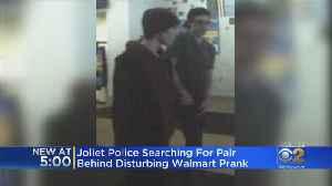 Men Wanted In 'I Have Coronavirus' Prank Ruining Food At Walmart [Video]