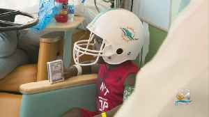 Children Battling Cancer Received Special Visit From Miami Dolphins Players [Video]