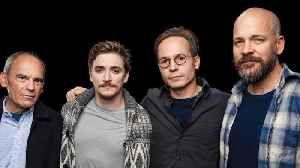 Peter Sarsgaard, Kyle Gallner, John Mankiewicz & Anders Weidemann On CBS All Access' 'Interrogation' [Video]