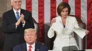News video: Pelosi shreds State of the Union speech