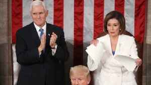 House Speaker Nancy Pelosi Ripped Up Trump's Speech [Video]