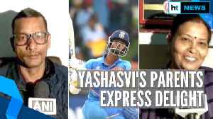 U19 CWC: 'Good at handling pressure': Yashasvi Jaiswal's father on son's ton [Video]