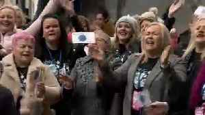 The Brief: Irish choir brings message of hope on beating cancer to Brussels [Video]