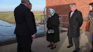Queen opens pumping station on Sandringham estate [Video]