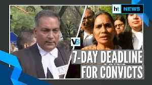 Delhi HC set 7-day deadline for Delhi gang rape convicts to file petitions [Video]