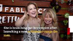 Kate Hudson announces Fabletics menswear line [Video]