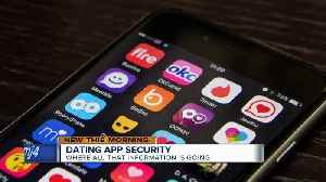 IT expert discusses dating app security concerns [Video]