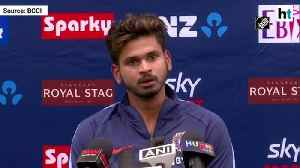 India vs NZ |'Everybody goes through a bad day': Shreyas Iyer on ODI loss [Video]