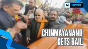 Chinmayanand walks out of jail after court grants him bail in sexual abuse case [Video]