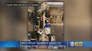 MSU Black Students Upset By Lynching Type Display [Video]