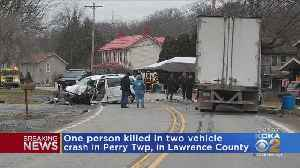 1 Dead In Lawrence Co. Crash [Video]
