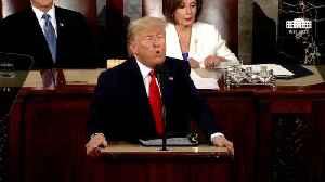 Internet Users Think Pelosi Practiced Ripping Up Trump's SOTU Speech [Video]