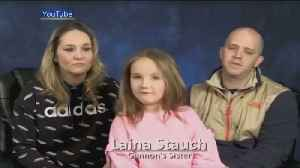 Missing 11-Year-Old Gannon Stauch's Family Pleads For Return [Video]