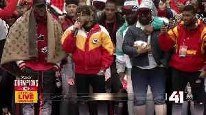 Tyrann Mathieu speaks at Chiefs Kingdom Champions Parade [Video]