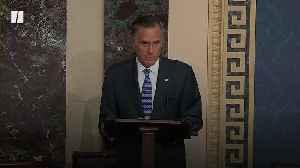 Romney To Vote To Convict Trump [Video]