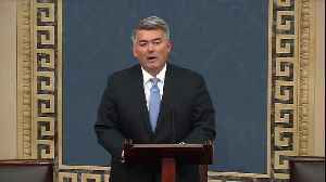 Sen. Cory Gardner speaks before impeachment vote [Video]
