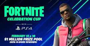 Fortnite Celebration Cup: A Million Dollar Tournament Exclusive To PS4! [Video]