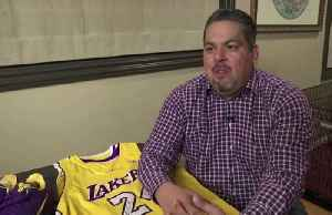 News video: 'Like a punch in the stomach,' former Lakers attendent on Bryant's death