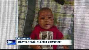 Buffalo baby's death ruled a homicide [Video]