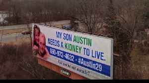 Connecticut Mother Gets Billboard to Search for Kidney for Her Son [Video]