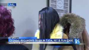 Opening arguments begin in fatal hit and run case [Video]
