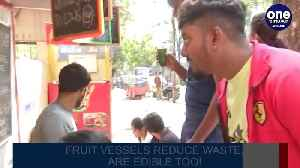 Bengaluru gets its first zero-waste juice shop, fruits serve as vessels| OneIndia News [Video]