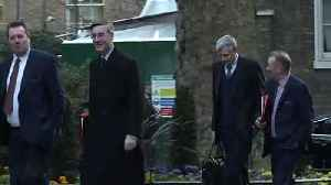 Members of the Cabinet arrive at Downing Street [Video]