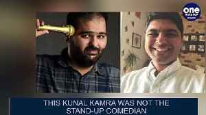 Comedy of errors: Air India cancelled flight of the wrong Kunal Kamra| OneIndia News [Video]