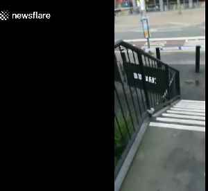 News video: Police cordon off streets after 'suspicious vehicle' reported in East Croydon, London