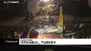 Video captures moment plane skids off runway in Istanbul [Video]