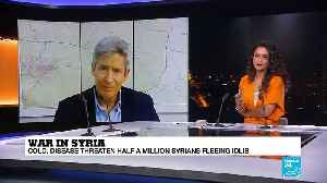 Syria: Mark Cutts, from the UN, on the humanitarian crisis in the Idlib region [Video]