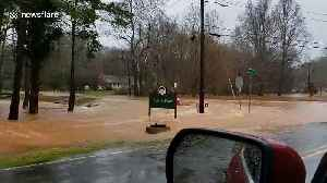 South Carolina battered by heavy rains and flooded roads [Video]