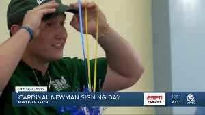 Cardinal Newman Signing Day [Video]