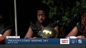 Treasure Coast National Signing Day [Video]