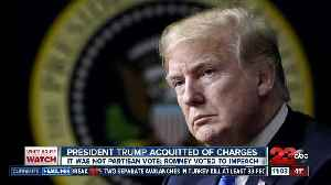 President Donald Trump acquitted of charges [Video]