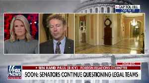 Rand Paul reacts to Justice Roberts censoring his question at Senate impeachment trial [Video]