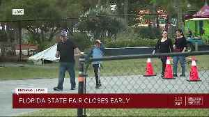 Florida State fair closes early due to severe weather [Video]