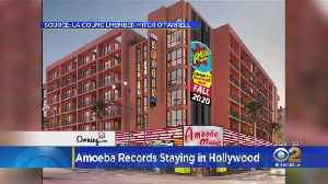 Amoeba Music To Move Into New Hollywood Boulevard Location In Fall 2020 [Video]